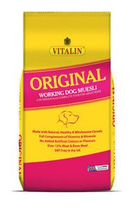 Vitalin Original Dry Dog Food - 15kg