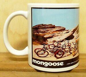300ml COFFEE MUG, MONGOOSE  BMX