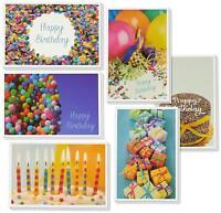 Birthday Card - 48-Pack Birthday Cards Box Set, Happy Birthday Cards - 6