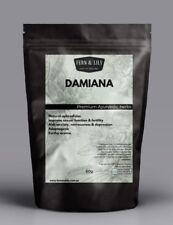 Organic Damiana - Turnera diffusa (50g) - premium ayurvedic herbs