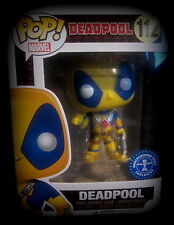 Deadpool - Yellow Costume - Limited - Vinyl Figur - Funko Pop! - Marvel