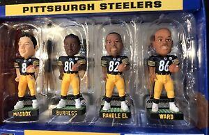 Pittsburgh Steelers NFL 4 player mini bobblehead set Retro Cool Item