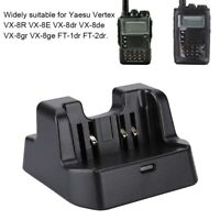 CD41 DC 8.4V Desktop Charger for Yaesu Verterx VX-8R VX-8E Radio Walkie Talkie