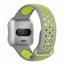 Replacement Soft Silicone Sport Bracelet Watch Band Strap For Fitbit Versa Smart