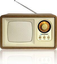 BLAUPUNKT HR7BR MP3 Player mit AUX USB SD Radio Heim Retro