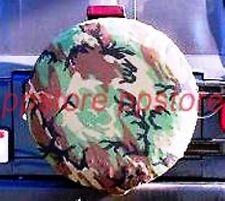 "SPARE TIRE COVER 26.5""-28.5"" Camo Camouflage ZC73629G"