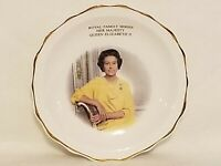 Argyle Royal Family Series Queen Elizabeth II Mini Collector Plate