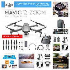 NEW DJI Mavic 2 Zoom - 2x Optical Zoom Video + All You Need Accessories Bundle