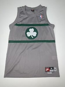 Nike Rewind Boston Celtics Paul Pierce Jersey Size Medium Gray Sewn