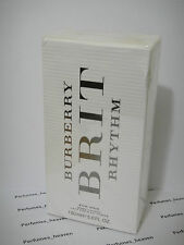Burberry Brit Rhythm By Burberry For Her Body Lotion 5oz / 150 ML Women * Sealed
