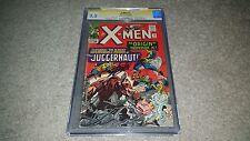 The X-Men #12 (Jul 1965, Marvel) CGC 3.5 SS Stan Lee Signed - 1st Juggernaut App