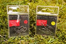Karpfenhaken Selection-Fishing Carp Hooks Series 1 10St. Größe 2 Größe 4