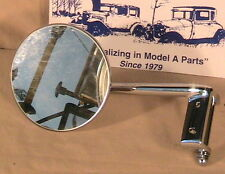 1930-1931 Model A Ford, Ratrod Streetrod LH and RH Door Hinge Pin Mirrors A Pair