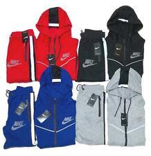 Nike Tech Sweatsuit Reflective Hoodie + Joggers Tracksuit New Free Shipping