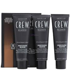 AMERICAN CREW Precision Blend Natural Gray Coverage 3x40ml 5-6 MEDIUM ASH sped.