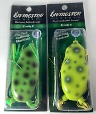 New ListingLivingston Lures Freddy B Frog (Lot of 2)