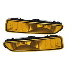 1999 2000 2001 2002 2003 Acura TL Base Type-S Bumper Fog Lights Yellow w/Bulbs