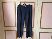 """MARKS & SPENCER COLLECTION POLYESTER NAVY TROUSERS WAIST 29""""~~30L~~~BNWOT"""