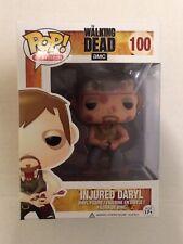 Funko POP Television Injured Daryl Dixon #100 AMC The Walking Dead MIB Walkers