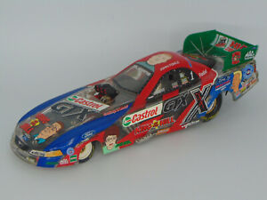 ACTION 2003 JOHN FORCE #1 CASTROL GTX KING OF THE HILL FORD FUNNY CAR 1:24 CLEAR