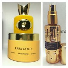 Sospiro Erba Gold - 14ml (0.47oz) DECANTED travel size perfume parfum