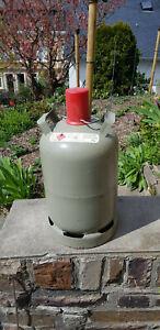 Gasflasche Stahl 11 KG Grau *Leer*