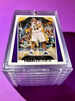 Kobe Bryant NBA HOOPS FIST PUMP HOT LAKERS BASKETBALL CARD INVESTMENT - Mint!