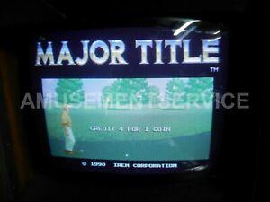 IREM Major Title PCB  game board M82 arcade 1990