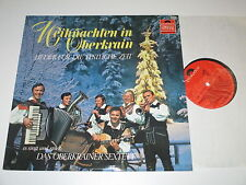 LP/WEIHNACHTEN IN OBERKRAIN/OBERKRAINER SEXTETT/FILIPLIC/KORBAR/Polydor 2440014*