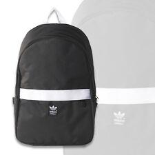 Adidas Originals Essentials Unisex Backpack School Laptop Bag,Black White AB2674