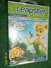 Leap Frog Leapster 1 I & 2 II 4-7y/o Juego Disney Fairies Completa/Nuevo