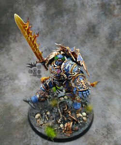 Warhammer 40k Ultramarines Roboute Guilliman Primarch M1 painted