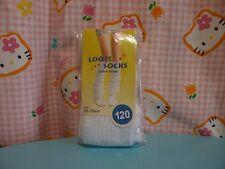 ^_^ Japanese School Girl Loose Socks 120cm. White ! New!