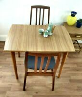 1950s dining table Czechoslovakian Formica Top Legs unbolt Easy Storage