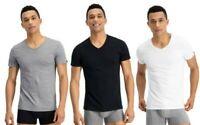 Puma T-Shirt Scollo A V Cotone Manica Corta Basic Casual Palestra