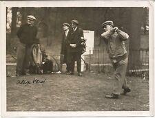 "ALEX ""SANDY"" HERD SIGNED Photo - 1902 OPEN CHAMPION - JSA LOA  -  FREE SHIPPING"