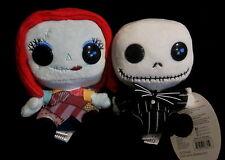 "The Nightmare Before Christmas - Jack & Sally - Plüschfigur / Plush - 6"""
