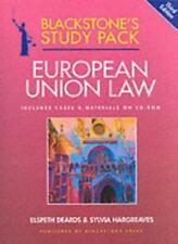 European Union Law (Blackstone's Study Packs)-Sylvia Hargreaves, Elspeth Deards