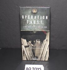 operation f.a.u.s.t collect art.board game Hard to find Robert Burke Sealed