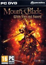 MOUNT & BLADE: With Fire & Sword (PC Game) Win 7/Vista/XP with multiple endings