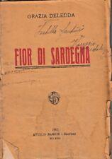 GRAZIA DELEDDA: FIOR DI SARDEGNA, ROMANZO 1923