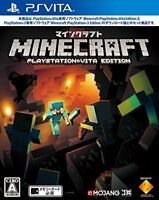 USED PS VITA Minecraft PlayStation Vita Edition Japan Import