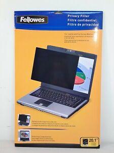 "Fellowes 20.1"" Standard-PrivaScree Blackout Privacy Filterr #3987"