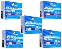 OLIMP ASHWAGANDHA 600 SPORT 15-300 caps. INDIAN GINSENG FREE WORLDWIDE SHIPPING