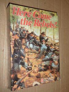 selten: Here come the Rebels! / Avalon Hill / in Originalfolie