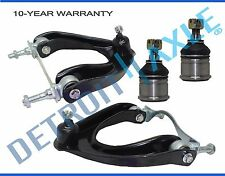 NEW 4pc Front Upper Control Arm + Lower Ball Joint Set for Honda Civic and CRX