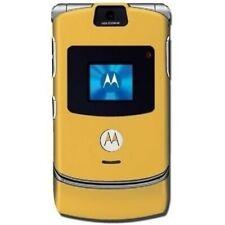 Original Motorola RAZR V3 Flip Teléfono Móvil Desbloqueado Teléfono Celular Cámara 2G GSM