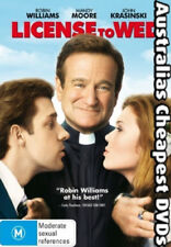 License To Wed DVD NEW, FREE POSTAGE WITHIN AUSTRALIA REGION 4