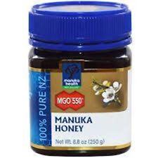 2x MGO 550+ 250 g Manuka Honey New Zealand Manuka Health