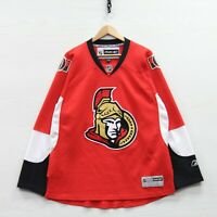 Ottawa Senators Reebok CCM Jersey Size Large Red NHL Stitched